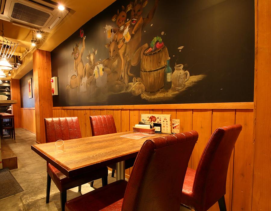 飲めるハンバーグ 自由ヶ丘店 店内写真
